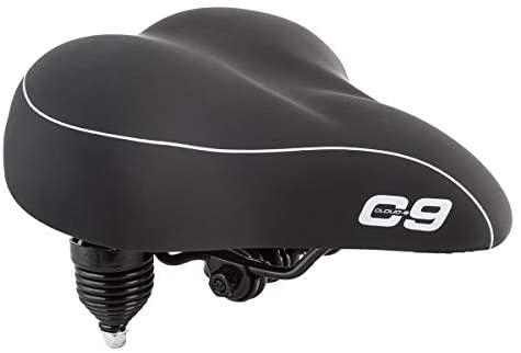 3183wY7BthL. AC  - Sunlite Cloud-9 Bicycle Suspension Cruiser Saddle, Cruiser Gel, Tri-color Black