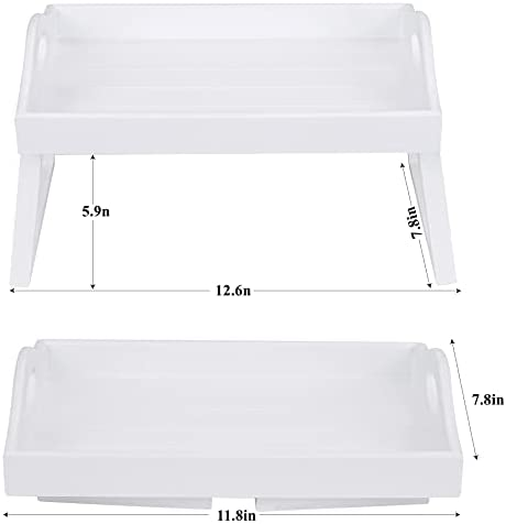 31nGkg+7zZS. AC  - TRSPCWR 2pcs Arm Clip Table, Couch Arm Table, 7.8x11.8in, Arm Rest Table, Armrest Table Tray, Sofa Armrest Tray, Side Table Tray for Drinks, Portable Remote Control, Snacks Holder, Wooden, White