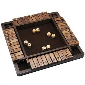 3c9b4c54 2aa9 4e37 9739 a05d88bcdee2.  CR0,0,300,300 PT0 SX300 V1    - Juegoal Wooden 4 Players Shut The Box Dice Game, Classics Tabletop Version and Pub Board Game, 12 inch