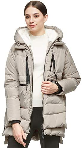 41+mA7yzANL. AC  - Orolay Women's Thickened Down Jacket