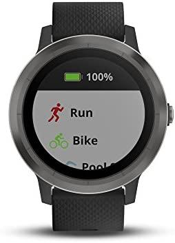 41GQaL3AK9L. AC  - Garmin 010-01769-11 Vívoactive 3, GPS Smartwatch Contactless Payments Built-In Sports Apps, Black/Slate