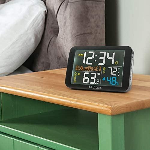 41Jvy+i kBL. AC  - La Crosse Technology 308-66677-INT Color Wireless Weather Station, Black