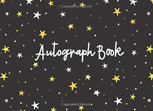 41K9zfJP  L - Autograph Book: Blank Pages Unlined for Keepsake Signatures Memorabilia Album Gift Trip Memory Book
