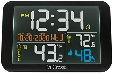 41SVNvcy9LL. AC  - La Crosse Technology 308-66677-INT Color Wireless Weather Station, Black