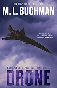 41aEKpXKBL. SY346  - Drone: a political technothriller (Miranda Chase Book 1)