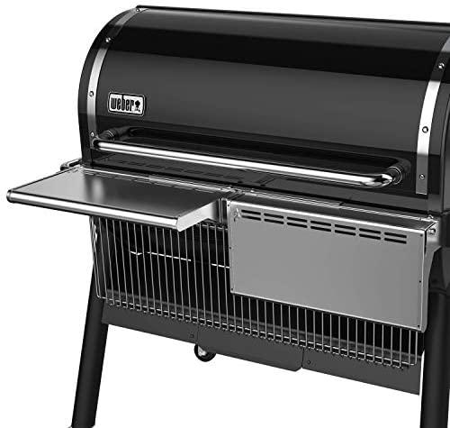 41bZNZ+5hlL. AC  - Weber 7003 SmokeFire EX6 Folding Front Shelf, Silver
