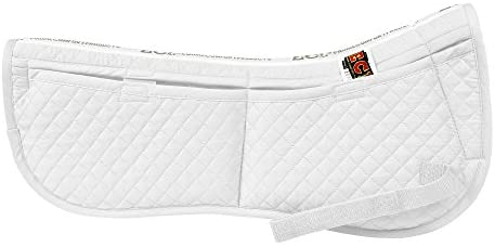 41dH3fPrabL. AC  - ECP Equine Comfort Products Correction Half Saddle Pad