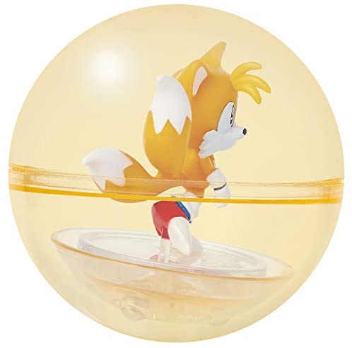 41lA6NSEMVL. AC  - Sonic The Hedgehog Sonic Booster Sphere Tails Action Figure