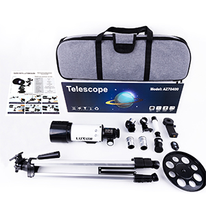 4cd1868e 6519 4c97 95b7 65c620c57bda.  CR0,0,300,300 PT0 SX300 V1    - LUXUN Telescope for Astronomy Beginners Kids Adults, 70mm Aperture 400mm Astronomical Refracting Portable Telescope - Travel Telescope with Phone Adapter Carry Bag