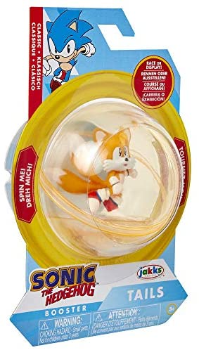 51L0fPYW5uL. AC  - Sonic The Hedgehog Sonic Booster Sphere Tails Action Figure