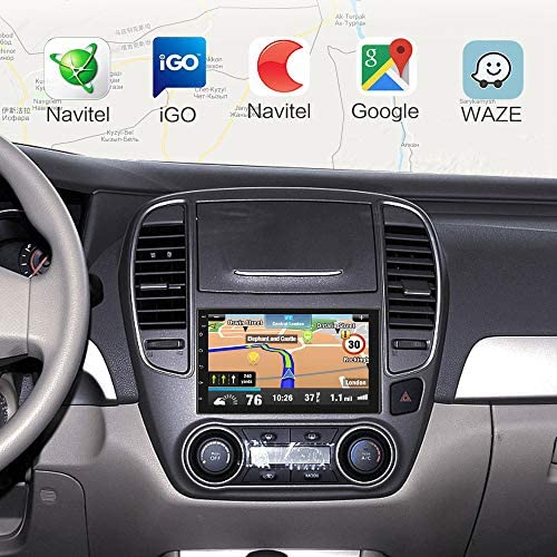 51Sf5E38a2L. AC  - Double Din Android Car Stereo with GPS 7 Inch Touch Screen Car Radio Bluetooth Supports Mirror Link for iOS/Android Phones WiFi Connect + Backup Camera