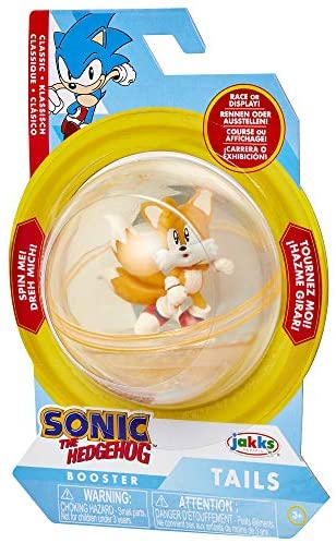 51WEd3n7j4L. AC  - Sonic The Hedgehog Sonic Booster Sphere Tails Action Figure