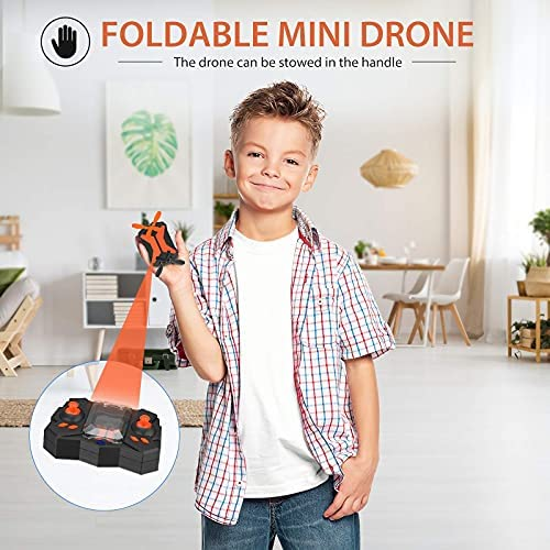 51YsIKrvirS. AC  - Mini Drone with Camera for KidsBeginners, Foldable Pocket RC Quadcopterwith App Gravity Voice Control Trajectory Flight, FPV Video, Altitude Hold, Headless Mode, 360°Flip, Toys Gifts for Boys Girls