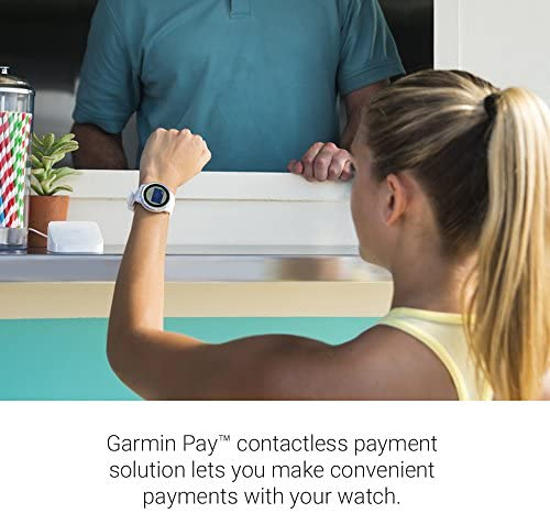 51a5j5lnVsL. AC  - Garmin 010-01769-11 Vívoactive 3, GPS Smartwatch Contactless Payments Built-In Sports Apps, Black/Slate