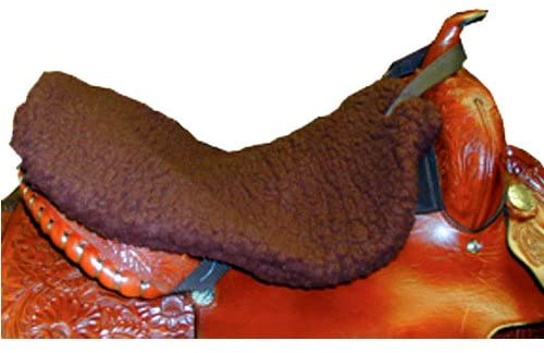 51l7Lr1pSuL. AC  - Intrepid International Western Saddle Fleece Seat Saver