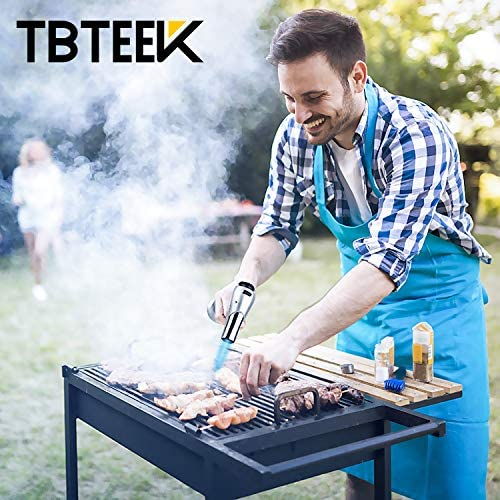 51mMOGMkYLL. AC  - TBTEEK Kitchen Torch, Fit All Tanks Butane Torch Cooking Torch with Safety Lock & Adjustable Flame for Cooking, BBQ, Baking, Brulee, Creme, DIY Soldering(Butane Not Included)