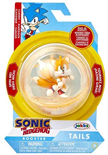 51p86JRNLRL. AC  - Sonic The Hedgehog Sonic Booster Sphere Tails Action Figure