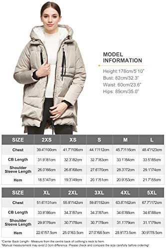 51pRB0287wL. AC  - Orolay Women's Thickened Down Jacket
