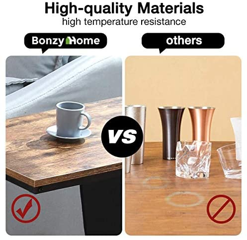 51rUPkAkpsL. AC  - Bonzy Home Snack Side Table with Storage C Shaped End Table for Sofa Couch,Living Room,Bedroom & Small Spaces
