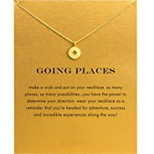 9567bba8 2bfb 40ff 8523 c74d18e6df5b.  CR0,0,1000,1000 PT0 SX220 V1    - Baydurcan Friendship Anchor Compass Necklace Good Luck Elephant Pendant Chain Necklace with Message Card Gift Card