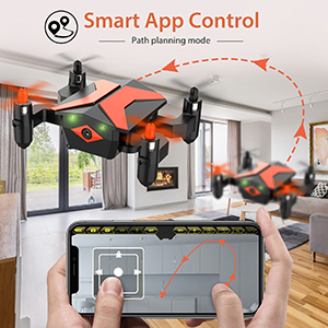 966c4070 ae00 4484 a2c4 40ef4986134e.  CR0,0,300,300 PT0 SX300 V1    - Mini Drone with Camera for KidsBeginners, Foldable Pocket RC Quadcopterwith App Gravity Voice Control Trajectory Flight, FPV Video, Altitude Hold, Headless Mode, 360°Flip, Toys Gifts for Boys Girls