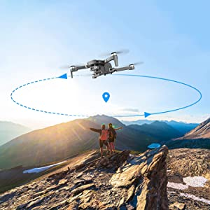 97c1d5b4 f6a0 44e6 abb5 2a109ff4462e.  CR0,0,1500,1500 PT0 SX300 V1    - 4DRC F4 GPS Drone with 4K Camera for Adults,2-Axis gimbal Anti-shake Camera HD FPV Live Video,Brushless Motor RC Quadcopter, Auto Return,Follow Me,Waypoint Fly,Headless Mode,Carrying Case