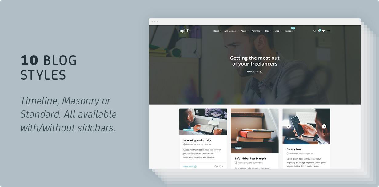 9 blog - Uplift - Responsive Multi-Purpose WordPress Theme