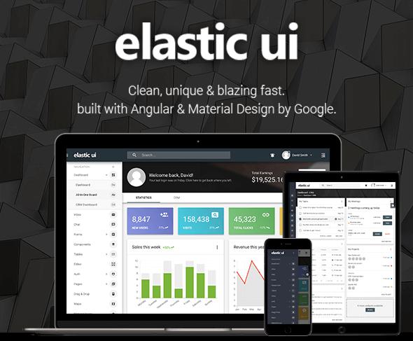D1rgyxm - elastic ui - Angular 8 Material Design & Redux Admin Template