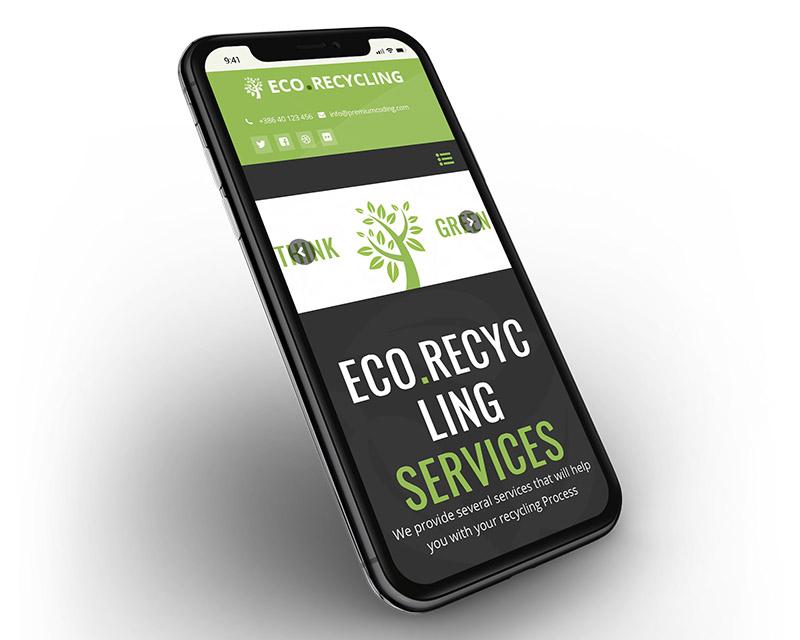 EcoRecycling wordpress nature theme responsive mobile - Eco Recycling - Ecology & Nature WordPress Theme