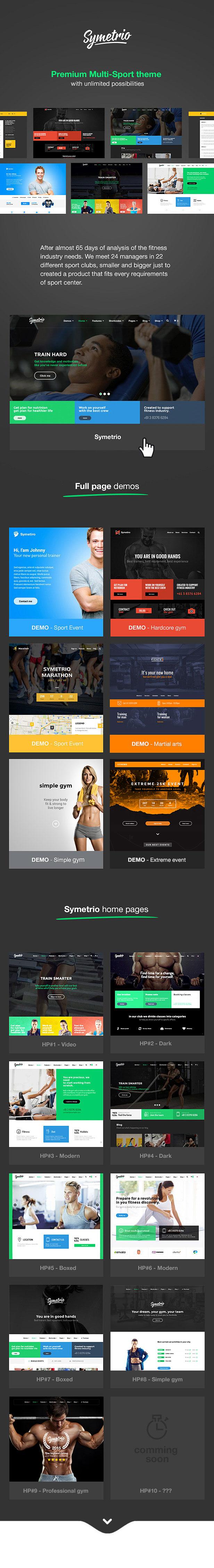 WIUZma - Symetrio - Gym & Fitness WordPress Theme
