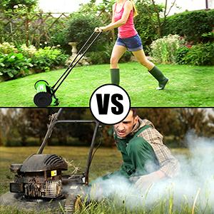 a172c692 8994 4ab6 9d23 2c7e234fca19.  CR0,0,300,300 PT0 SX300 V1    - Olenyer 16-Inch Quiet Cut Push Reel Lawn Mower with 5-Blade Push Reel,Green