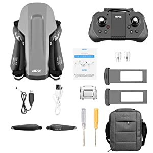 aa3375e9 04d5 44e9 93b0 a2ffea941695.  CR0,0,300,300 PT0 SX300 V1    - 4DRC F4 GPS Drone with 4K Camera for Adults,2-Axis gimbal Anti-shake Camera HD FPV Live Video,Brushless Motor RC Quadcopter, Auto Return,Follow Me,Waypoint Fly,Headless Mode,Carrying Case