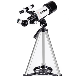 ac21044e 12cb 4cc6 9661 118777482c41.  CR0,0,300,300 PT0 SX300 V1    - LUXUN Telescope for Astronomy Beginners Kids Adults, 70mm Aperture 400mm Astronomical Refracting Portable Telescope - Travel Telescope with Phone Adapter Carry Bag