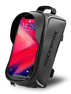 """addb0660 2928 44ef b5b6 bcac54e717e9.  CR0,0,300,400 PT0 SX300 V1    - ROCKBROS Top Tube Bike Bag Waterproof Bicycle Bag Touch Screen Bike Pouch Bike Cell Phone Holder Cycling Accessories for iPhone 12 11 7 8 Plus Xs Max Below 6.7"""""""