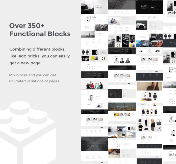 blocks mix - Haswell - Multipurpose One & Multi Page Template
