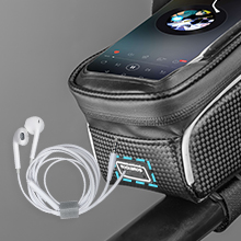 """c68eca97 76c0 427c 8777 8bfcda7e98cd.  CR0,0,220,220 PT0 SX220 V1    - ROCKBROS Top Tube Bike Bag Waterproof Bicycle Bag Touch Screen Bike Pouch Bike Cell Phone Holder Cycling Accessories for iPhone 12 11 7 8 Plus Xs Max Below 6.7"""""""
