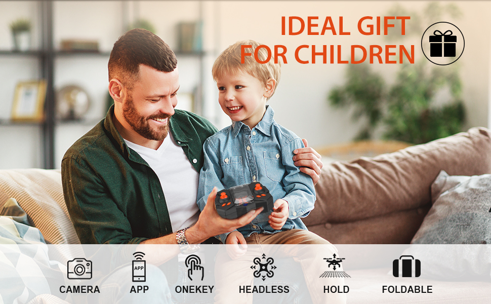 d46bd065 1fcf 4fd2 afaa c4dd5bfc544d.  CR0,0,970,600 PT0 SX970 V1    - Mini Drone with Camera for KidsBeginners, Foldable Pocket RC Quadcopterwith App Gravity Voice Control Trajectory Flight, FPV Video, Altitude Hold, Headless Mode, 360°Flip, Toys Gifts for Boys Girls