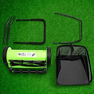 d6f204b3 be63 419c 927c 15ef63daa68d.  CR0,0,300,300 PT0 SX300 V1    - Olenyer 16-Inch Quiet Cut Push Reel Lawn Mower with 5-Blade Push Reel,Green