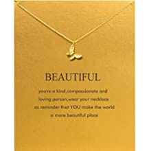 dc2f7214 6552 4021 91b8 525b9043d8cf.  CR0,0,1186,1186 PT0 SX220 V1    - Baydurcan Friendship Anchor Compass Necklace Good Luck Elephant Pendant Chain Necklace with Message Card Gift Card