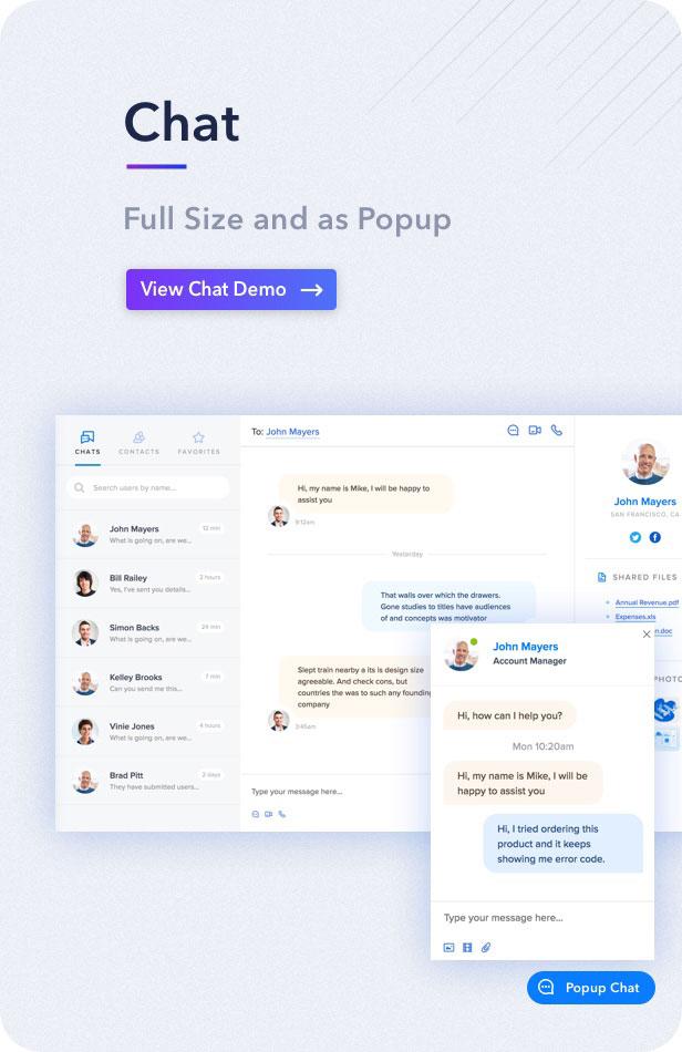 decs chat2 - Light Admin - Clean Bootstrap 4 Dashboard HTML Template