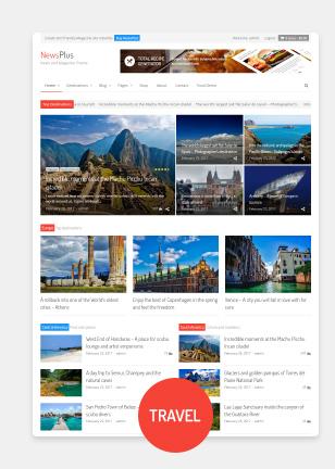 demo1 - NewsPlus - News and Magazine WordPress theme