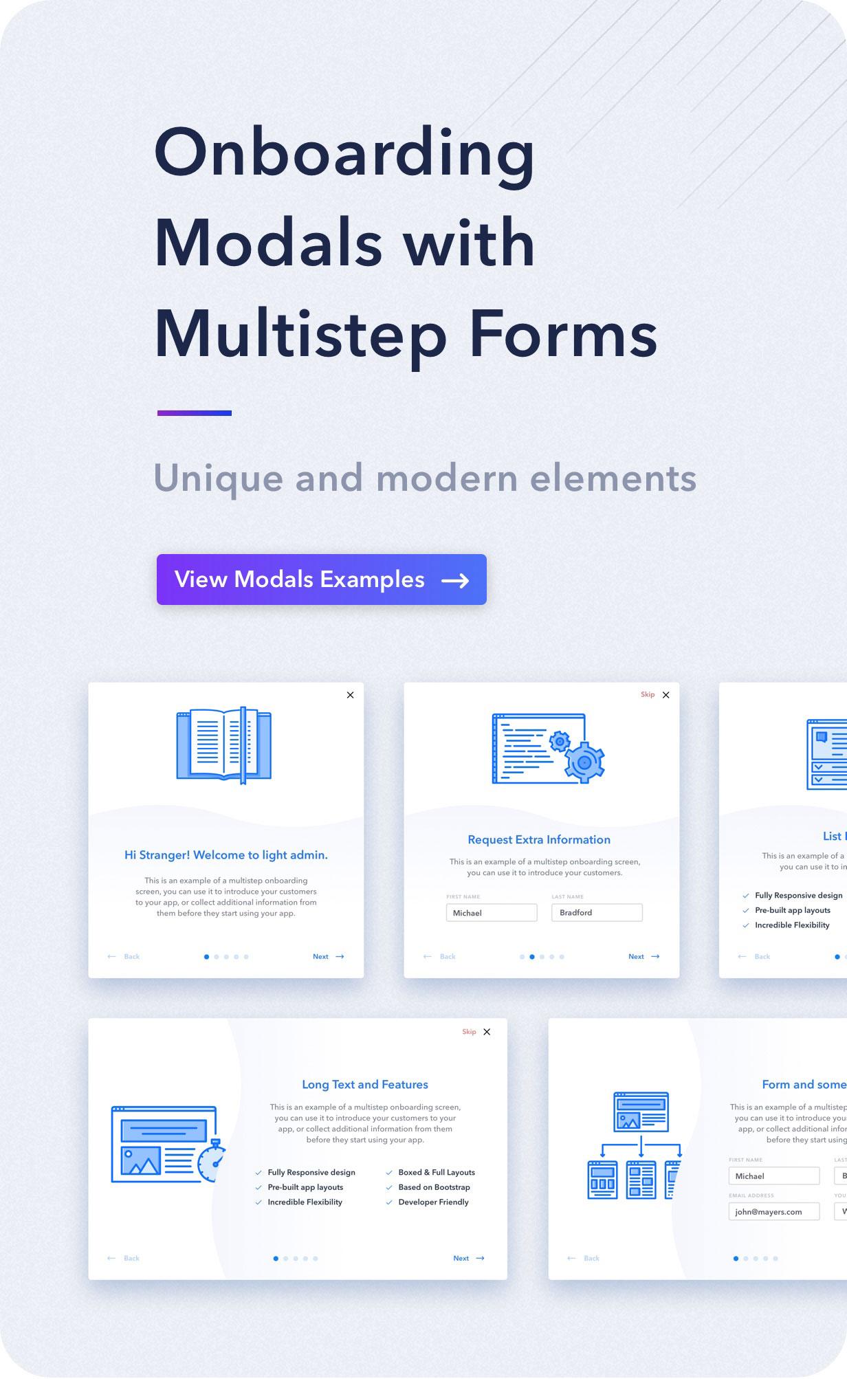 desc modals - Light Admin - Clean Bootstrap 4 Dashboard HTML Template