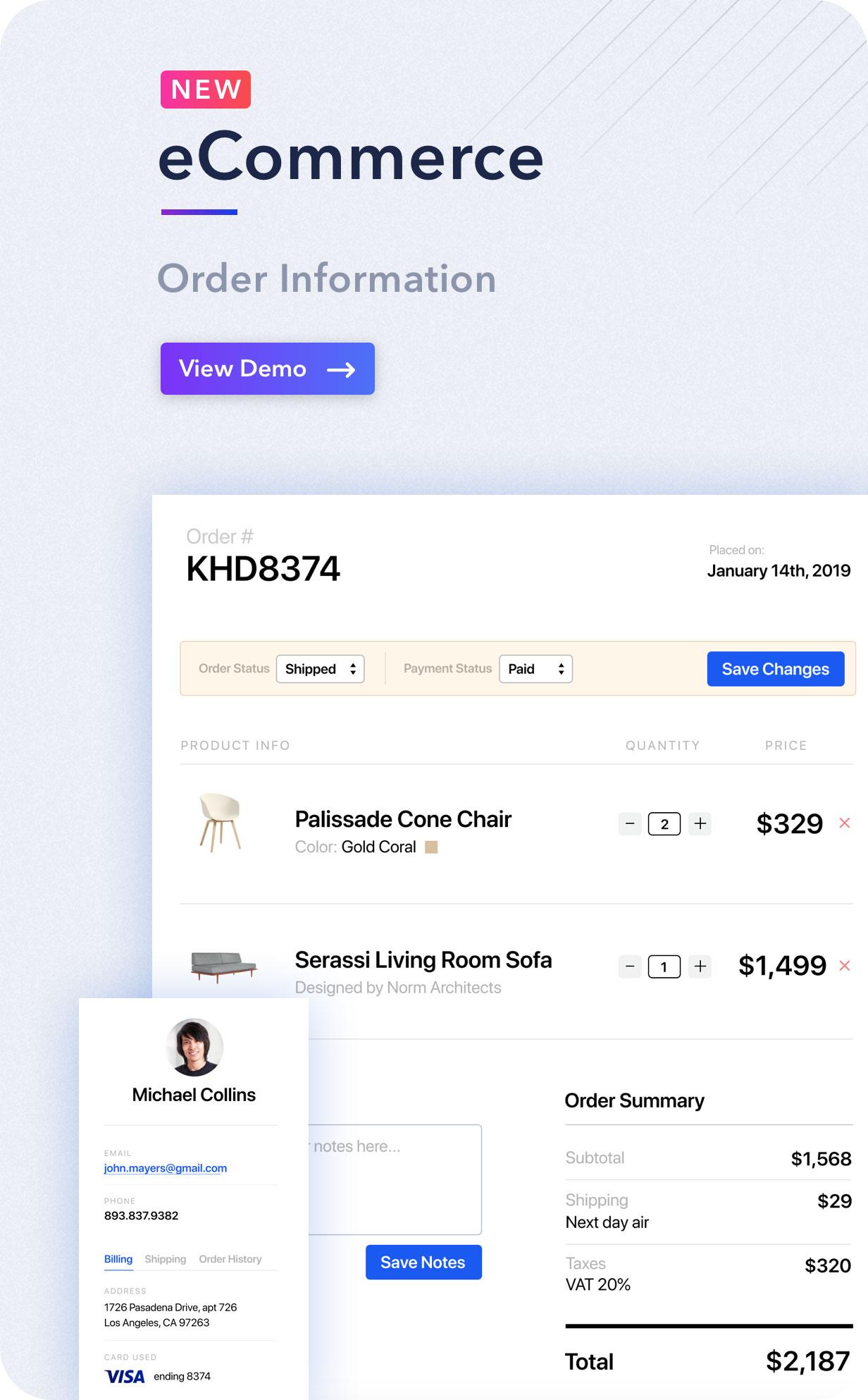 desc order - Light Admin - Clean Bootstrap 4 Dashboard HTML Template