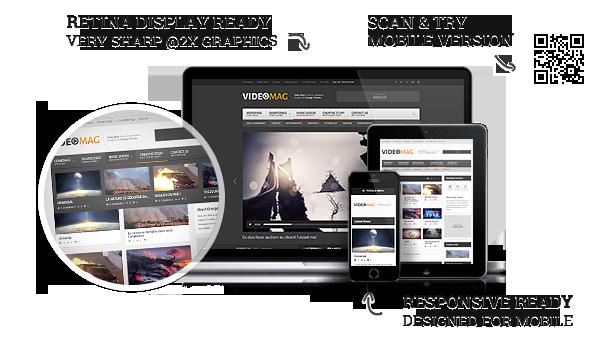 description videomag 1 html - VideoMag - Powerful Video HTML Template