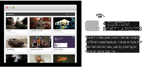 description videomag 10 - VideoMag - Powerful Video HTML Template