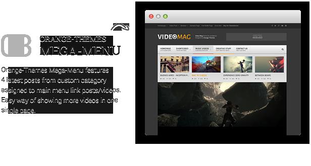 description videomag 9 - VideoMag - Powerful Video HTML Template