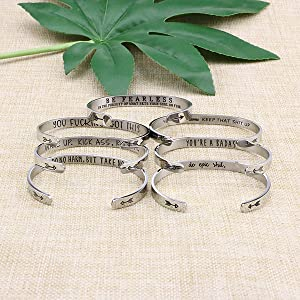 e3ae927d 66d9 47db ad6a d5f4dad3fd4c.  CR0,0,600,600 PT0 SX300 V1    - Joycuff Bracelets for Women Personalized Inspirational Jewelry Mantra Cuff Bangle Friend Encouragement Gift for Her