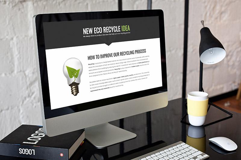 ecorecycle nature wordpress theme ecology presentation 3 - Eco Recycling - Ecology & Nature WordPress Theme