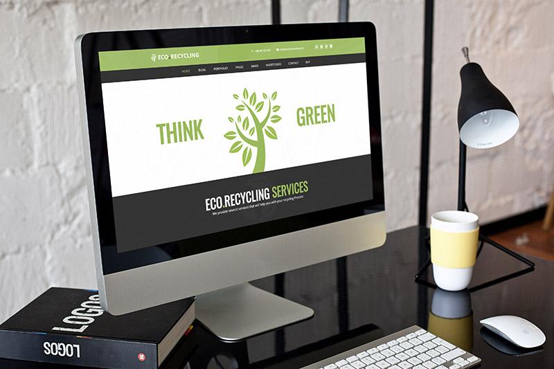 ecorecycle nature wordpress theme ecology presentation - Eco Recycling - Ecology & Nature WordPress Theme
