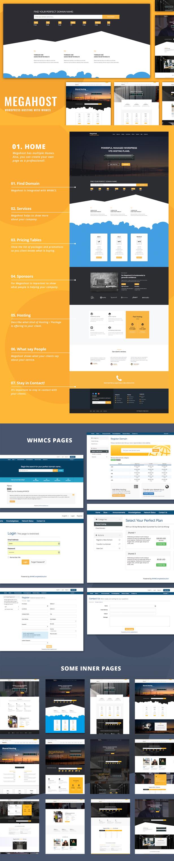 full tf - Hosting WordPress theme with WHMCS - MegaHost